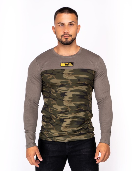 Kung Fu Master Long Sleeve Camo Green Edition