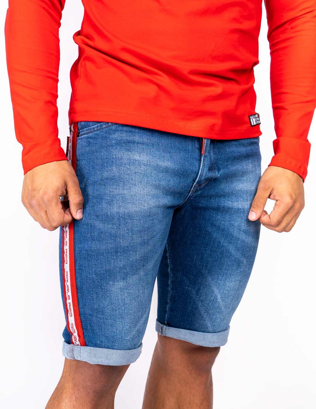 RED JEANS Shorts Blue