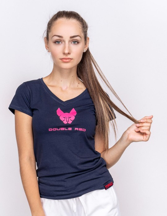 T-Shirt Limited Edition Hell Cat Blue