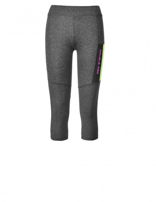 Leggins SPORT IS YOUR GANG Function Sport Grey/Yellow