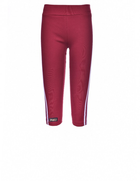Leggins SPORT IS YOUR GANG Gold Forever Bordo