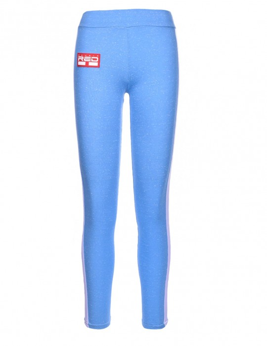 Leggins SPORT IS YOUR GANG 3D Logo Blue