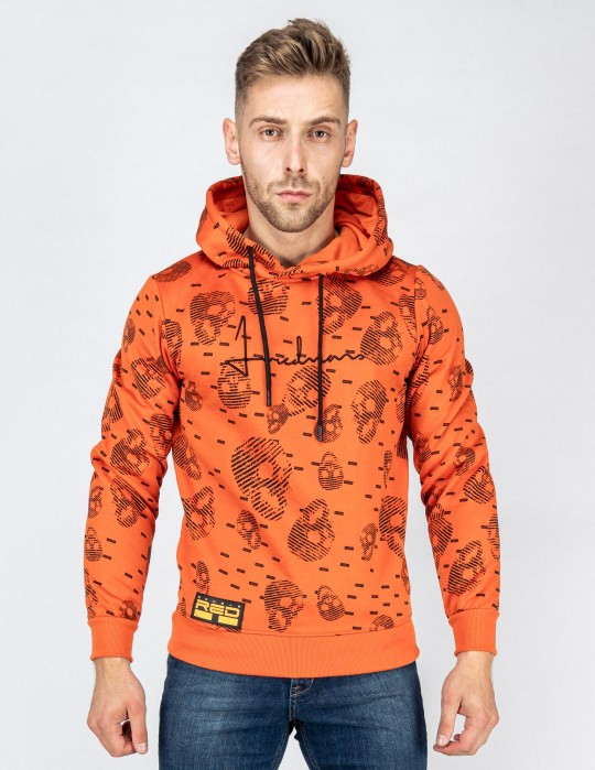 Hoodie I REDMAN School Street Edition Orange
