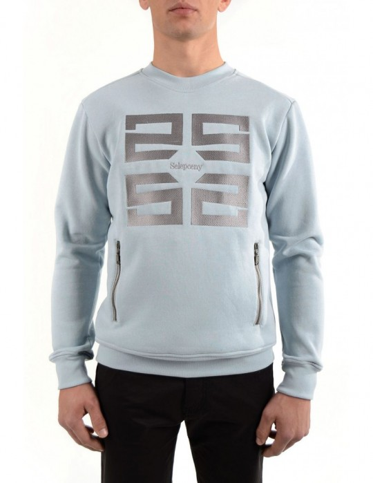 SELEPCENY EMBROIDERED SWEATSHIRT