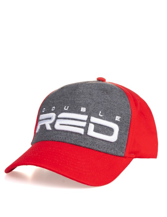 JERSEY Winter Edition 3D Embroidery Grey/Red Cap