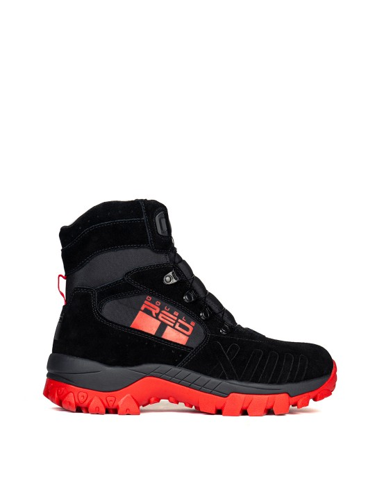 X WIRE™ BLACK & RED Boots