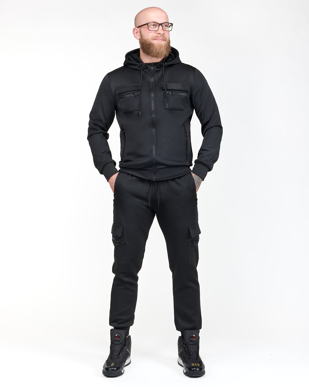 PUNISHER All Black Edition Tracksuit