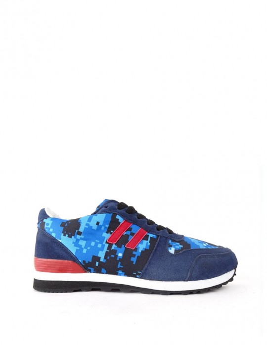DOUBLE RED DR camo blue DIGI Trainers