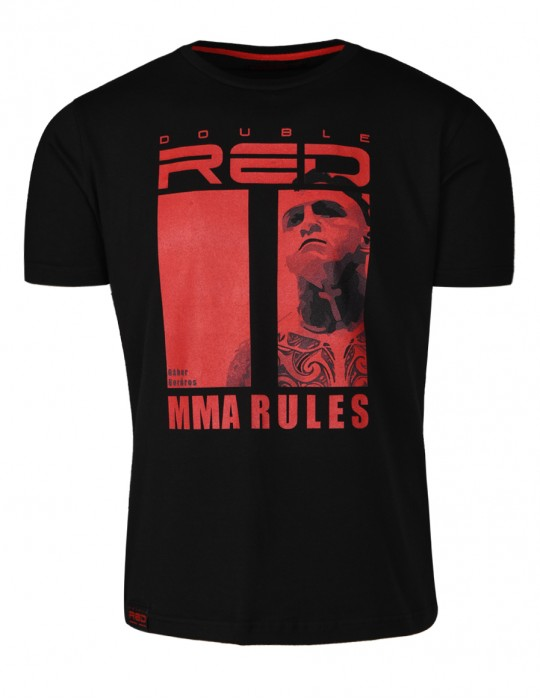 Limited Edition MMA RULES T-shirt Black