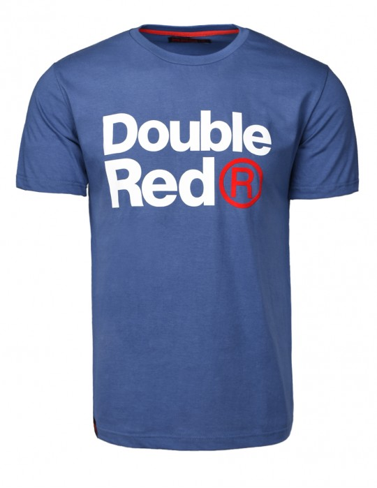 DOUBLE RED Trademark T-shirt Dark Blue