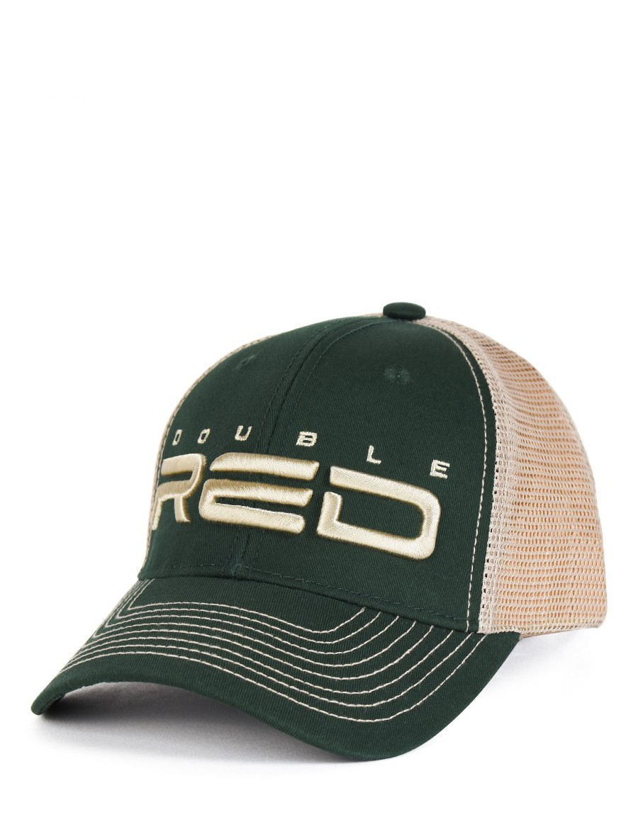DOUBLE RED Airtech Mesh Cap Green/Sand