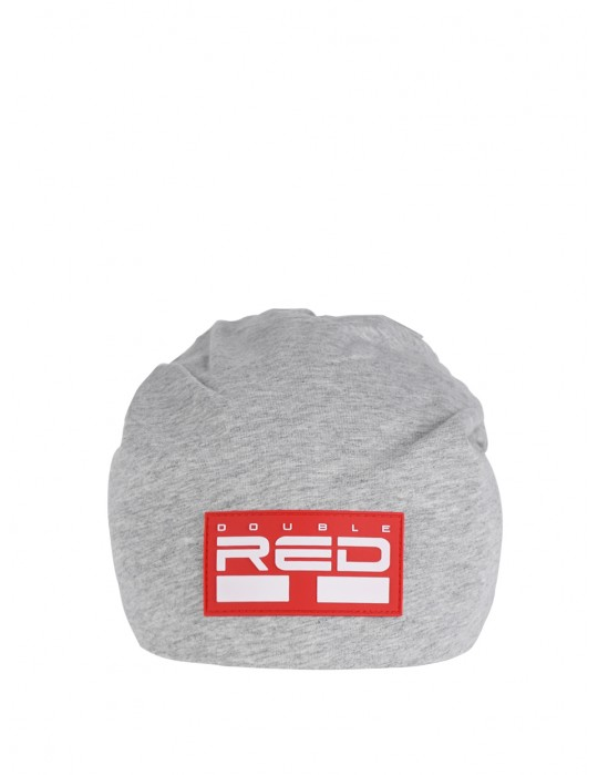 DNA RED BEANIE Light Grey