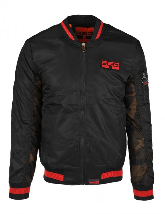 Street Hero Bomber Jacket Black