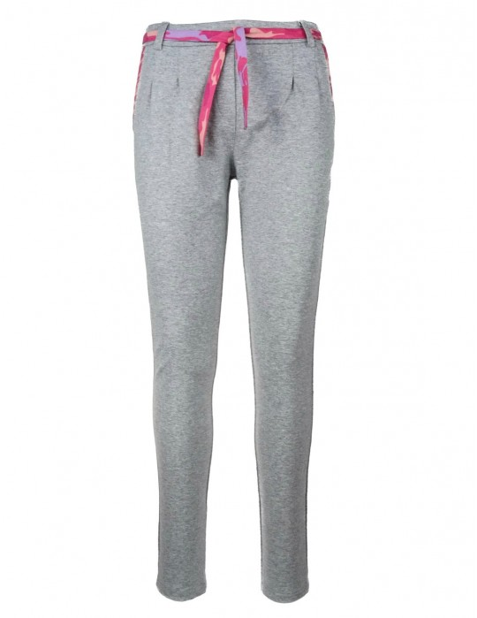 Tracksuit Bottoms Gray Pink Camo