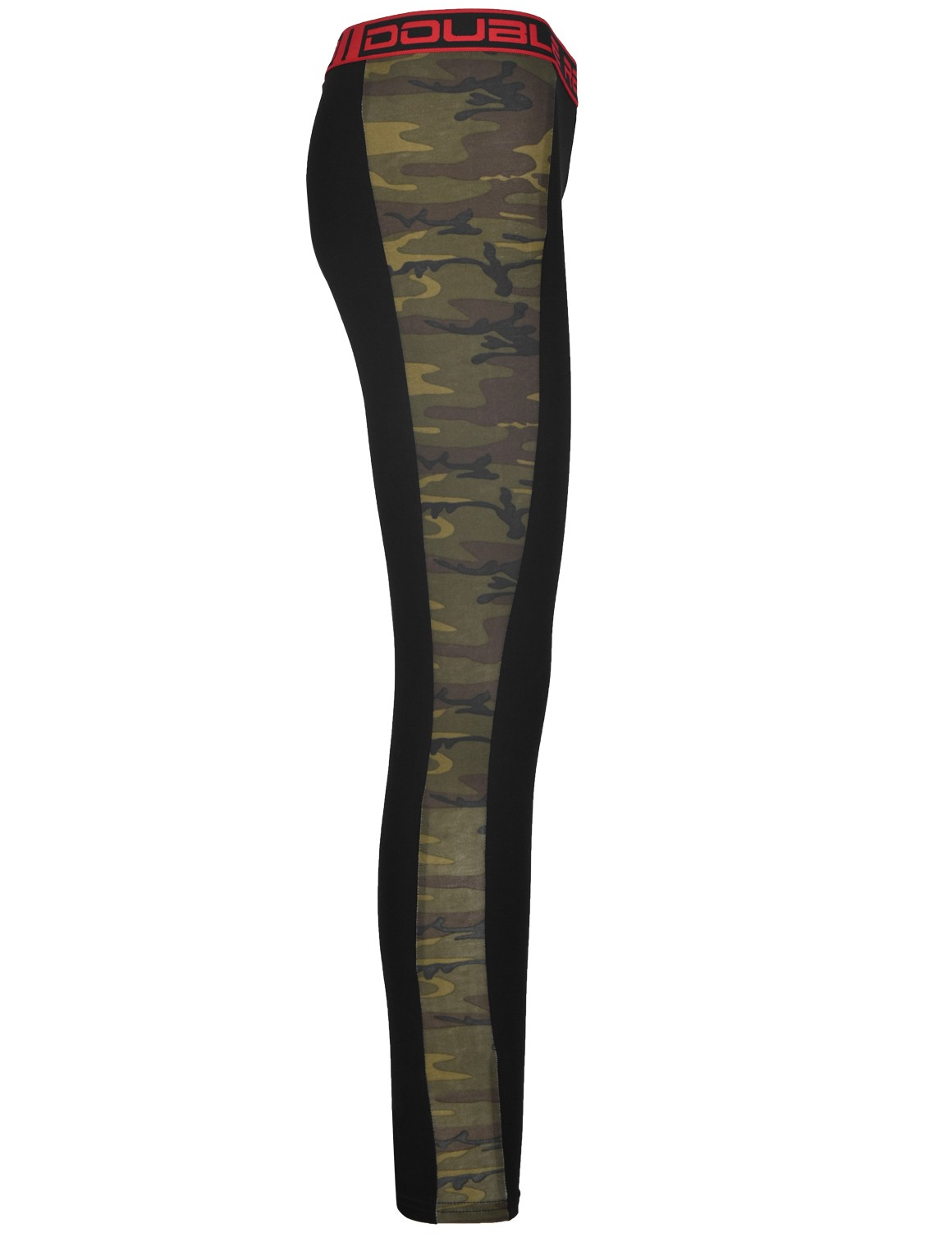 RED LEGGINS Grey/Green Camo
