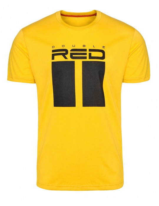 T-shirt All Logo Yellow