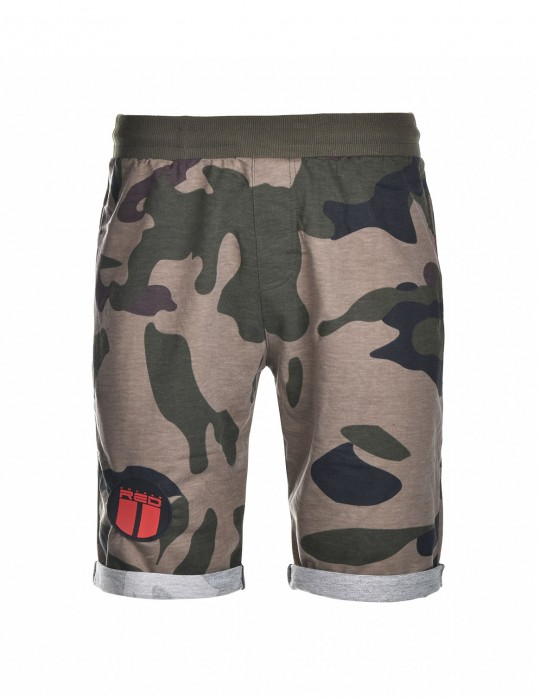 SOLDIER Shorts Green Camo