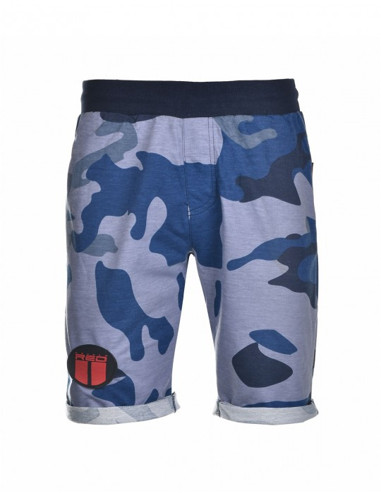 SOLDIER Shorts Blue Camo
