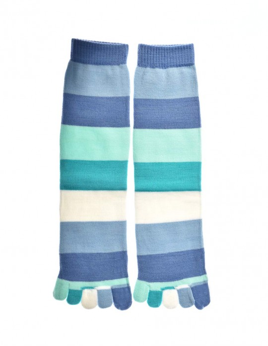 DOUBLE FUN Toe Socks Ocean